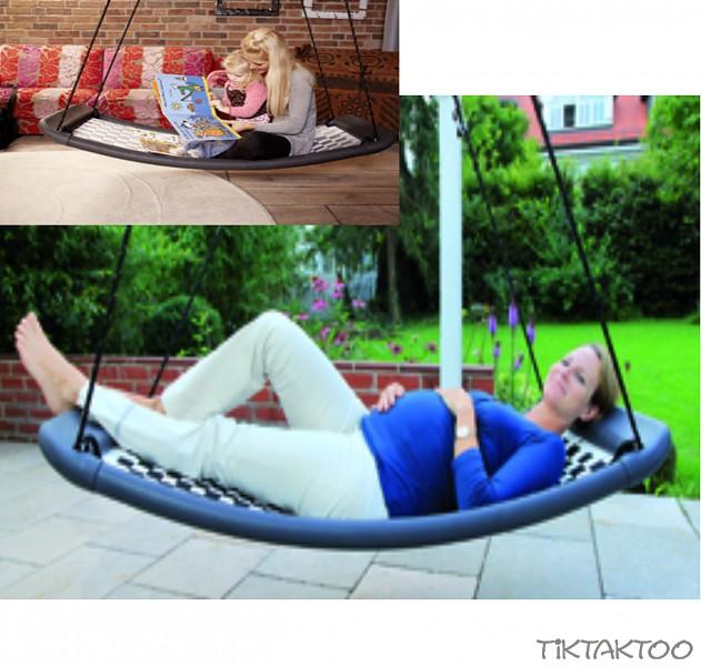 lifestyle standard el silber relaxschaukel schaukel hollywoodschaukel tiktaktoo. Black Bedroom Furniture Sets. Home Design Ideas