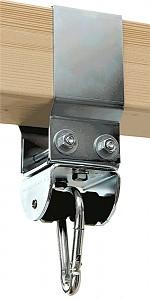 Marathon® Schaukelschelle 8 x 14 cm für Kantholz verzinkt