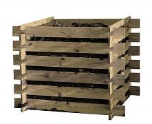 Holz Komposter Kompostsilo