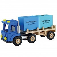 LKW mit 2 Container