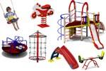 Spielplatz und Zubehör
